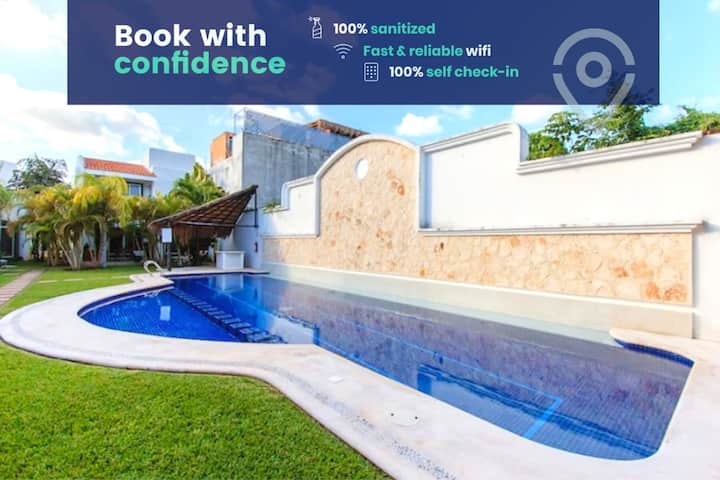 Perfect Villa With Pool Access and Close to the beach