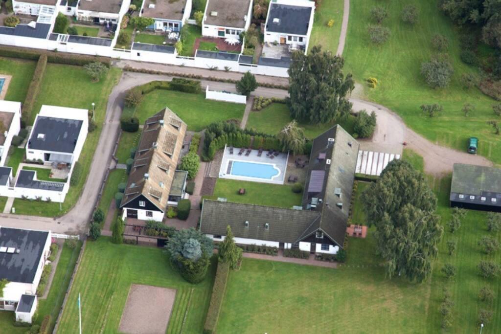 Ett eget poolområde