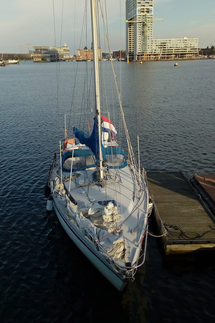 Spirit is a 12m ocean racer/cruiser