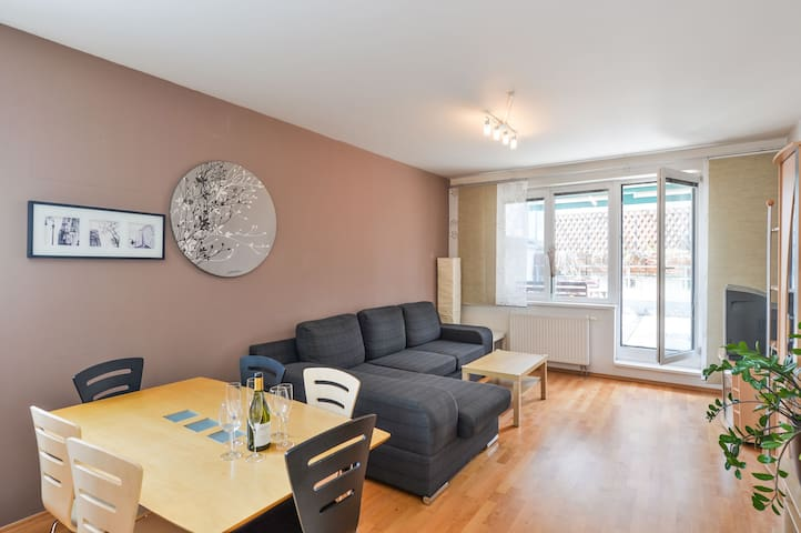Awesome 3Room Family Apt with parking and terrace