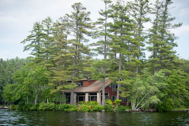 Island House Kezar Lake - Lovell