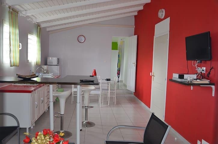 Chez Janou et Danou - Anse-Bertrand - Appartement