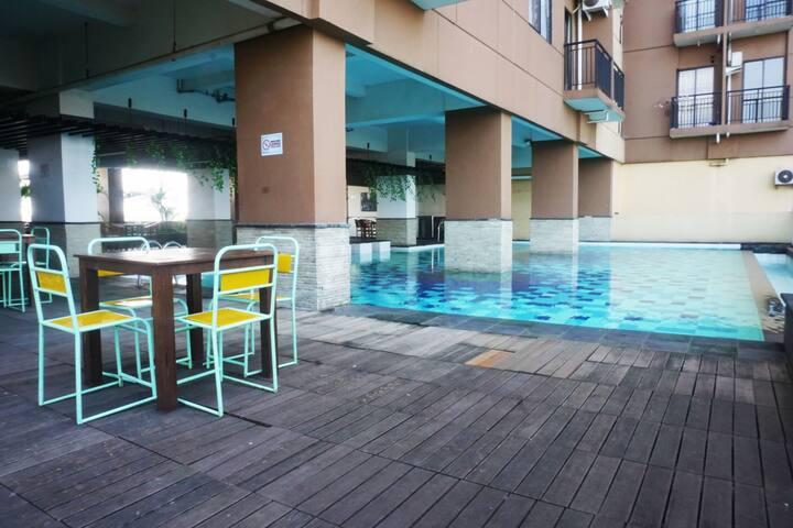 Premium 2BR Tamansari Panoramic Apartment