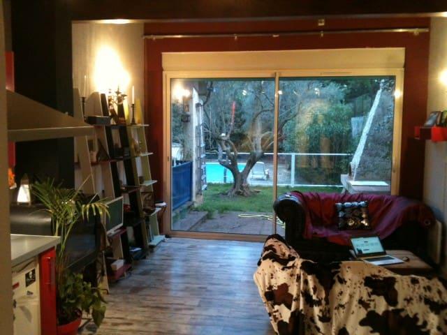 STUDIO 5O m2 dans village provencale - Allauch - Appartamento