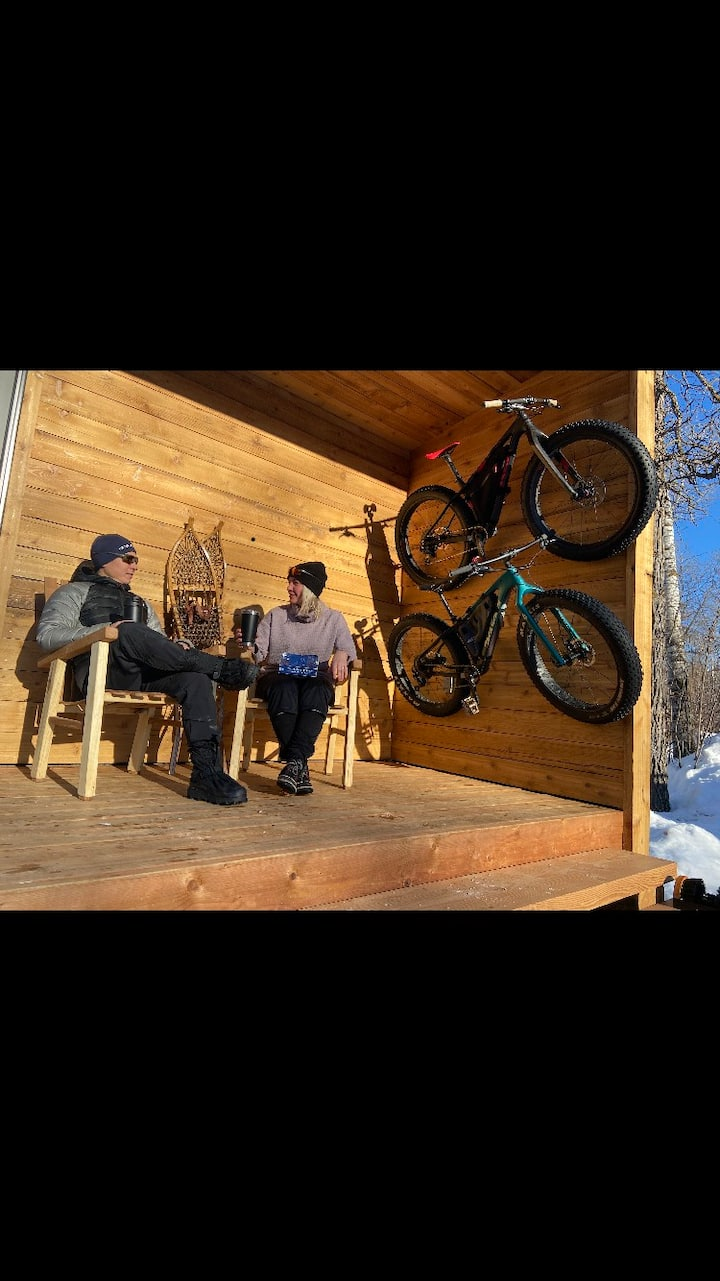 Stay in Micro Cabin #1 at NORTHGATE Trails!