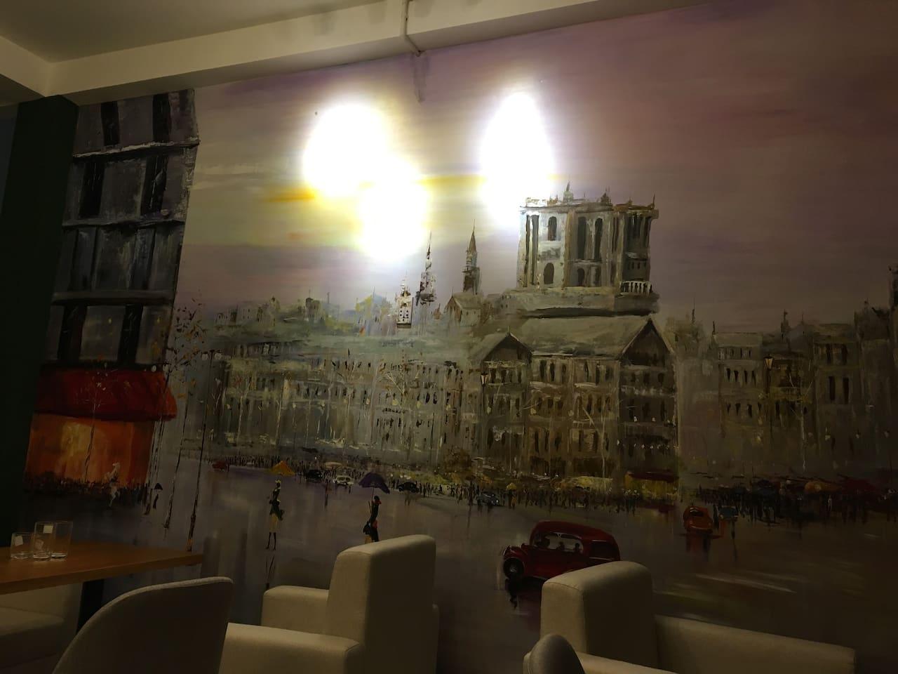 范五老街 滨城市场 百年邮局 ...咖啡厅楼上的民宿 住4人-华人房东