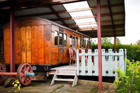 Victorian Railway Carriage, Suffolk