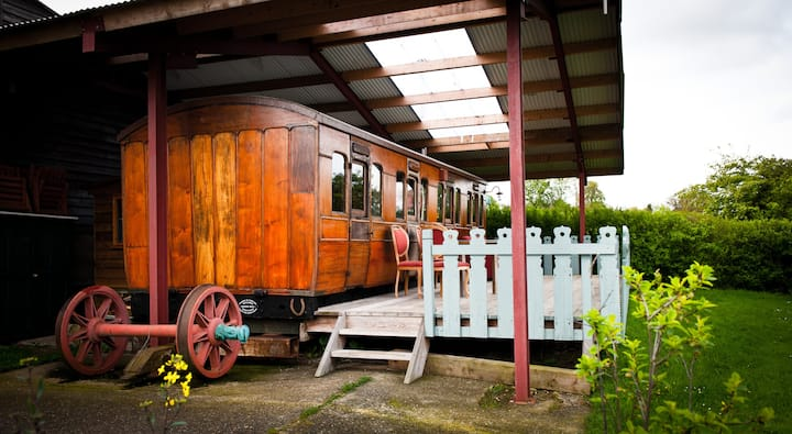 Victorian Railway Carriage, Suffolk