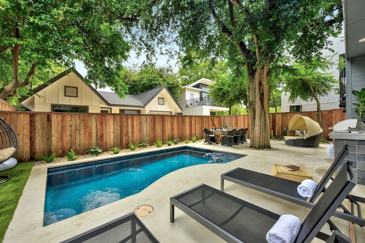Spacious Sunlit Home | Private Pool