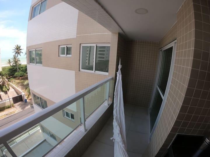 Apartamento Beira mar ótimo para veraneio