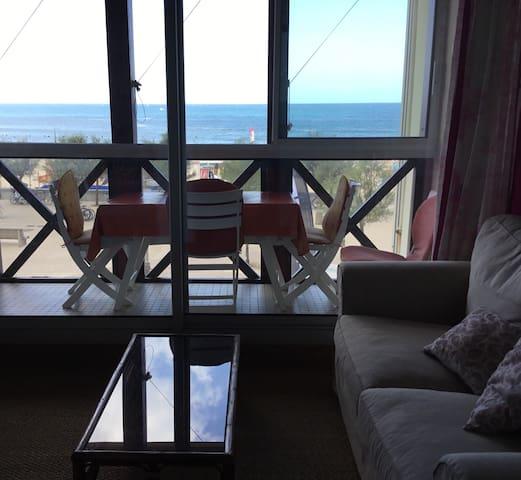 Appartement vue sur mer plage sud d'Hossegor