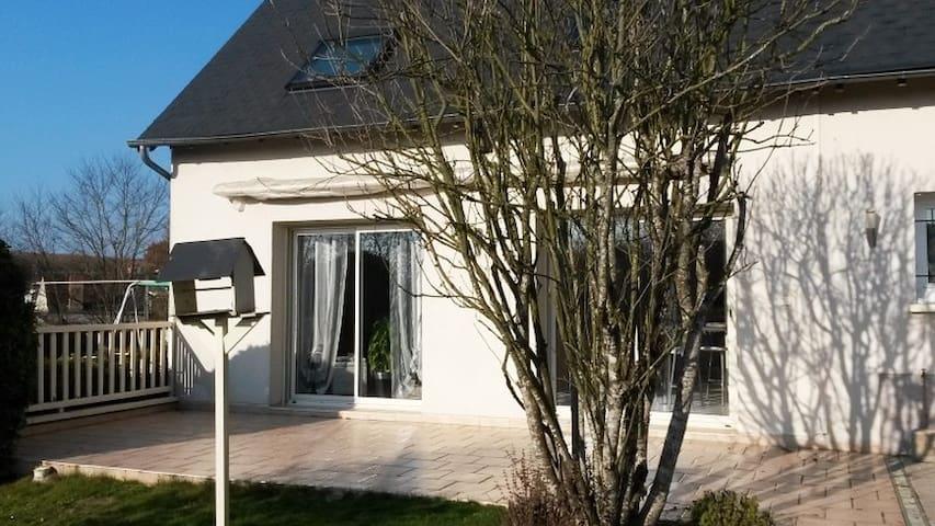 Belle chambre lumineuse de 35 m2 - Vouvray - Rumah