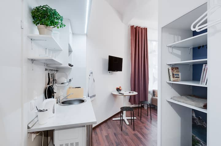 "Studio apartment ""Metropolis"""