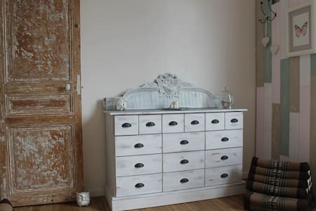 Chambre cosy dans maison agréable proche de Paris - Domont - Дом