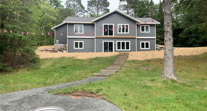 New Construction Waterfront Home on Chain of Lakes