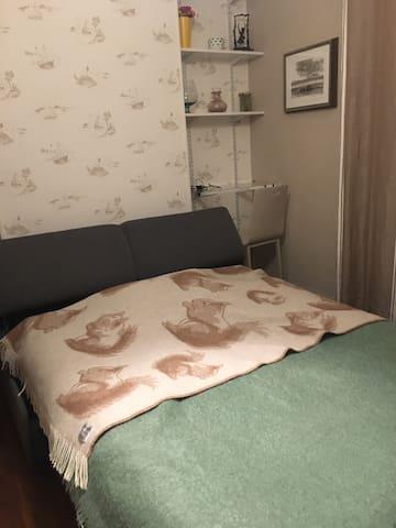 Chambre avec cachet dans beau quartier résidentiel