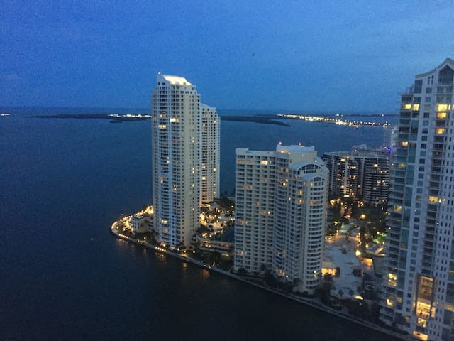 Amazing  ocean view in down town Miami