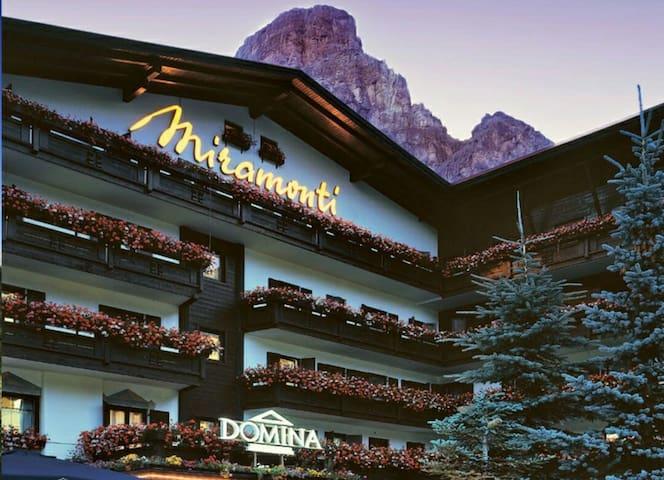 Suite bilocale in hotel Miramonti - Corvara In Badia - Wohnung
