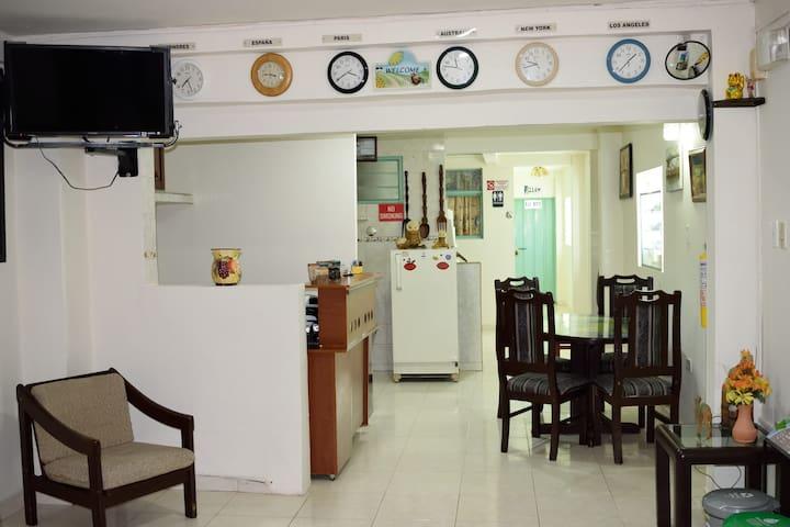 Habitación Económica Cerca Parque del Café