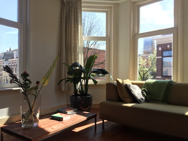 Spacious 2 floor apartment with  sunny terrace - Haarlem - Byhus