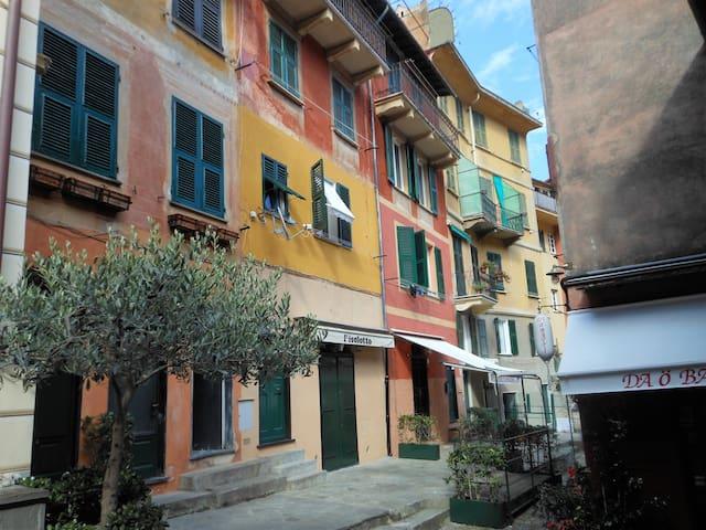 nel borgo a un passo dalla piazzetta - Portofino - Appartement