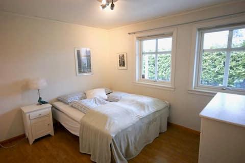 奧斯陸郊外50平方米的公寓,非常適合兩人入住