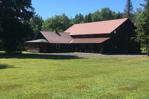 Utter One House,  experiência encantadora Adirondacks