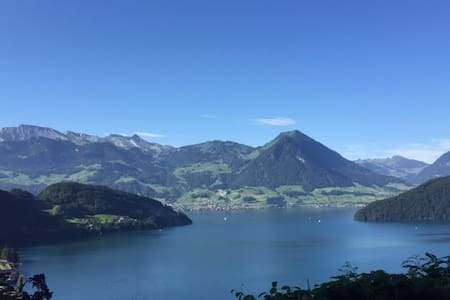 Apartment Husenfels - great view on Lake