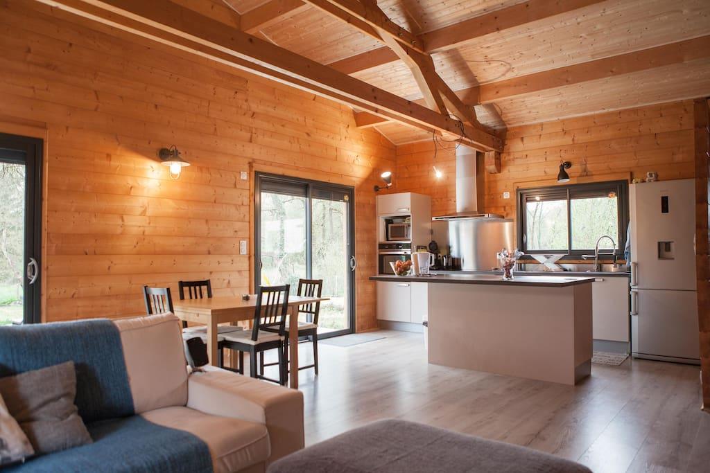 Maison bois saint andr de cubzac houses for rent in for Constructeur maison saint andre de cubzac