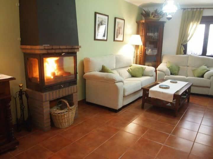 Casa Rural con encanto y  lleno de aromas.