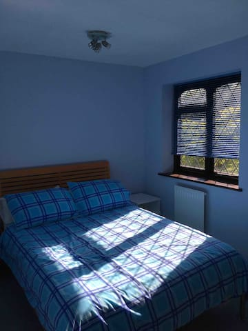 Your bedroom showing double bed