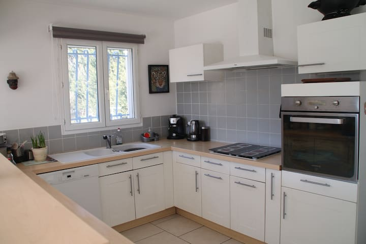 Conditioned house with secured swimming pool 10x5m - Monteux - Villa