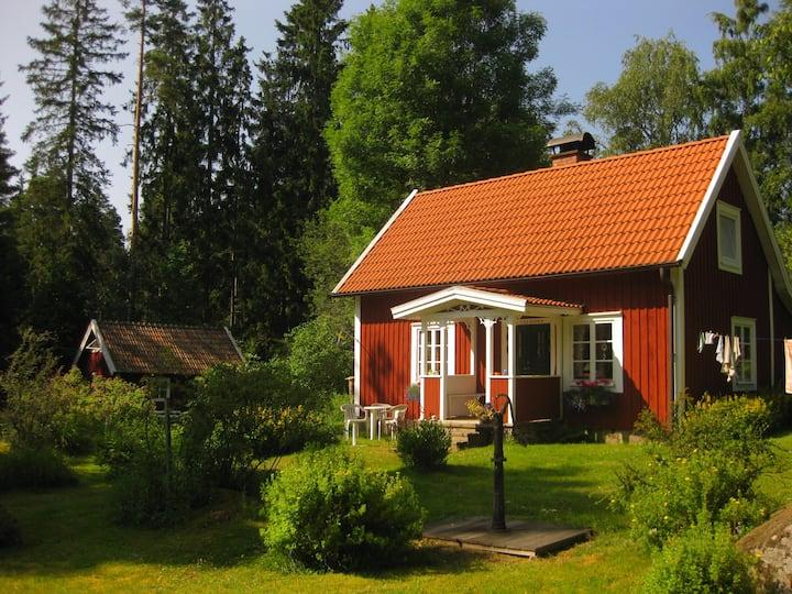 """Haus """"Lycke boda"""", glückliches Heim"""
