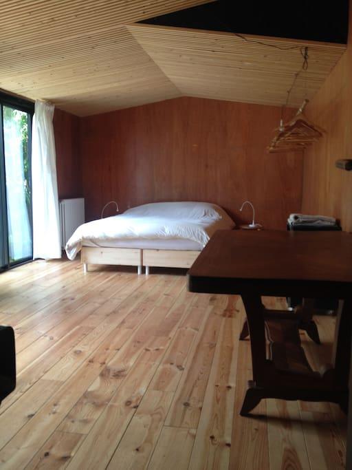 chambre privée et indépendante