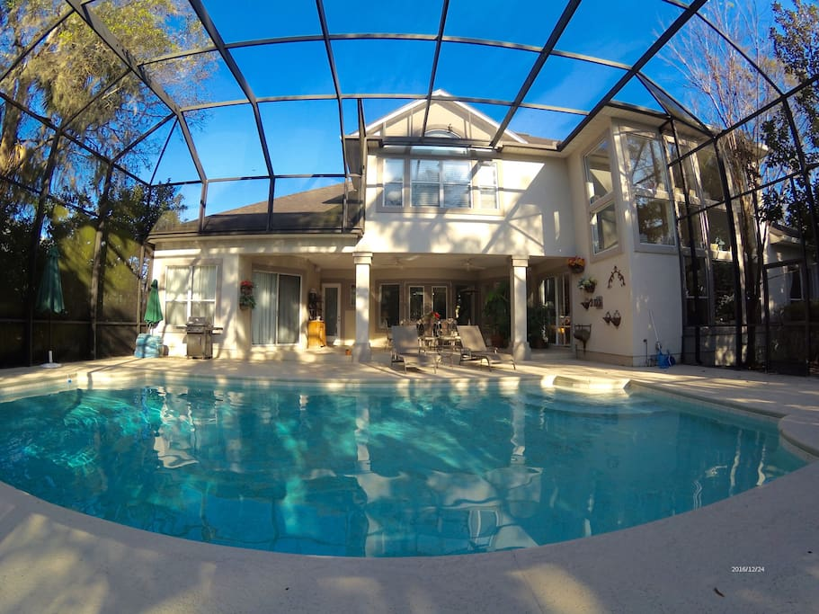 Heated Swimming Pool and Patio