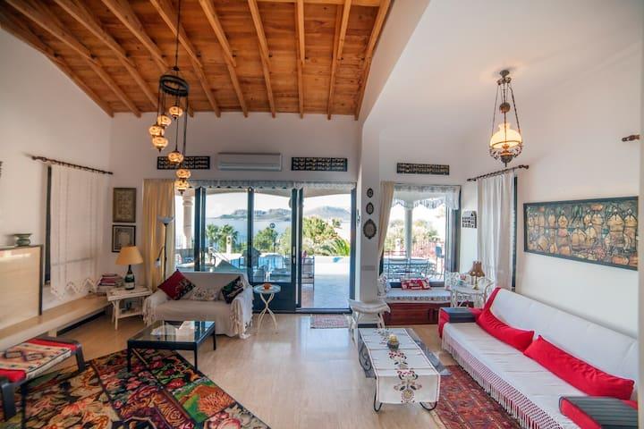 Seaside Charming Villa w/Pool & Breathtaking Views