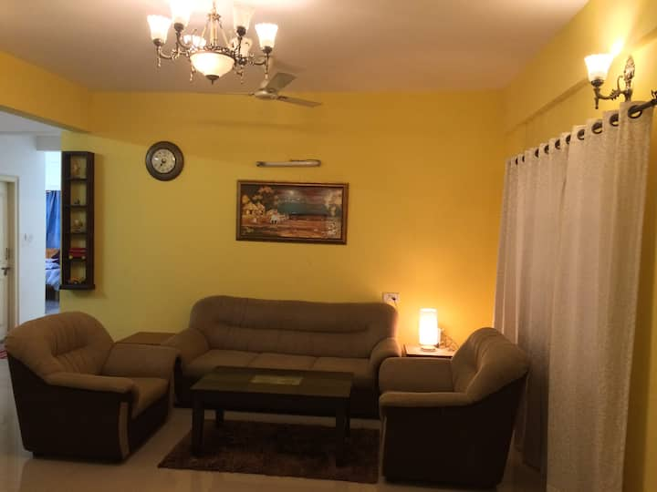 Luxury 3 Bedrooms Serviced Apartment