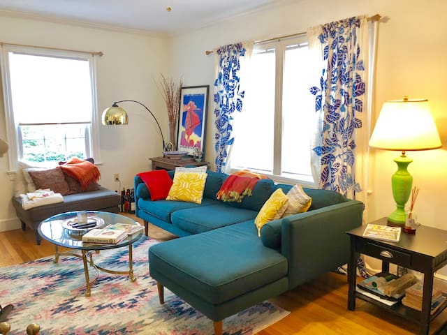 Quiet oasis, close to Yale and New Haven