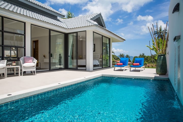 Sam-kah Villa Jade 2-Bedroom, private pool, garden