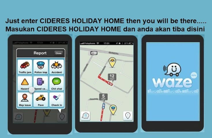 CIDERES HOLIDAY HOME