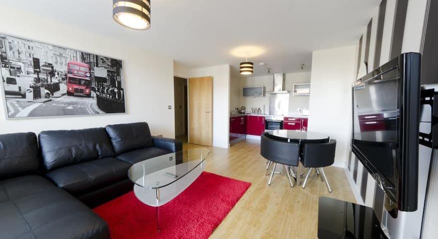 The Ruby House Apartment - Vizion - Milton Keynes - Milton Keynes - Byt