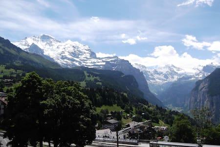 Spectacular Views! Sleeps 2-4 Guests! Car free! - Wengen