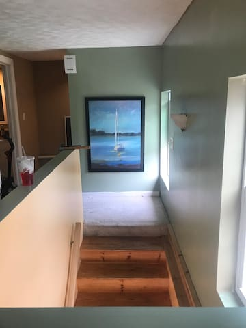 Your entrance stairway