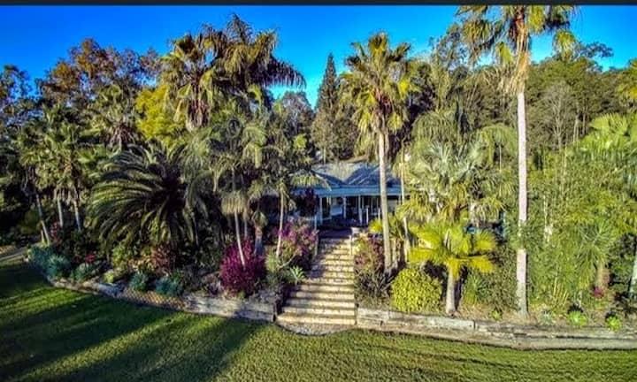 Sunshine Coast hinterland  Hidden valley retreat
