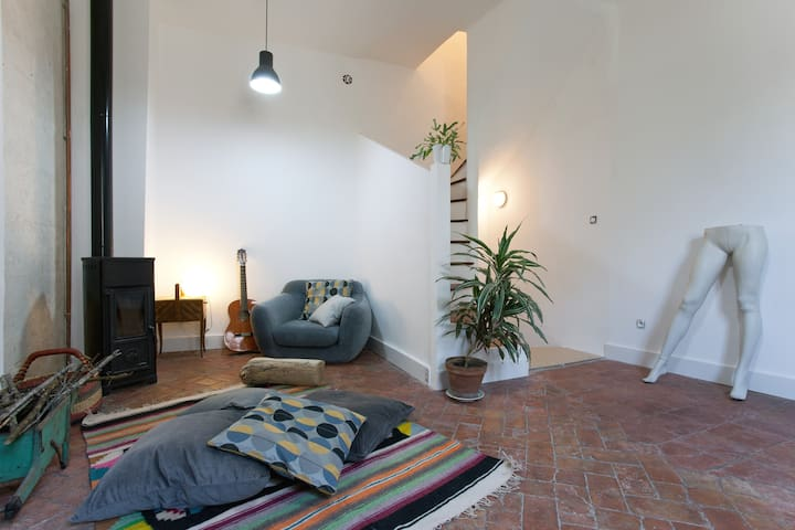 Jolie maison arlésienne au coeur de la Roquette - Arles - House