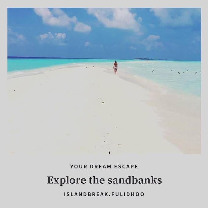 Sandbank trip