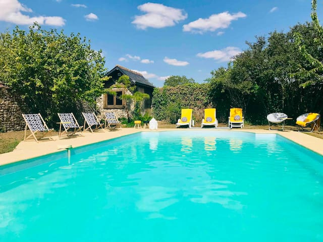 Taty Ginette maison et table d hôtes avec piscine