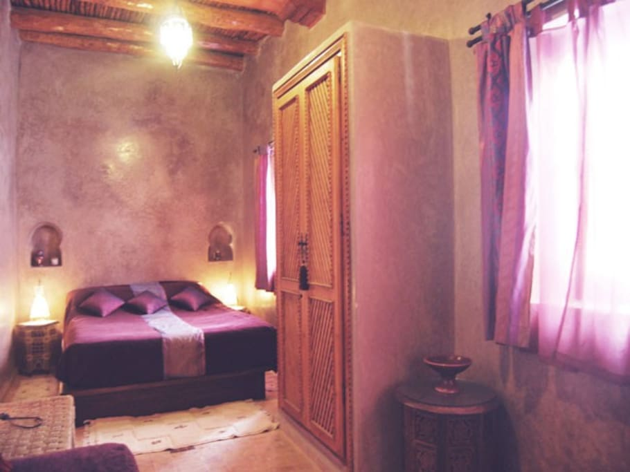 Chambre z phyr riad rose des vents chambres d 39 h tes for Chambre 13 maroc