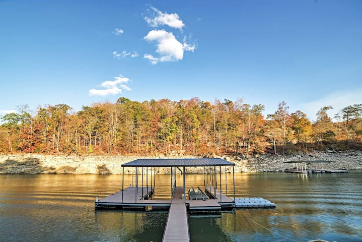 4BR Caryville House w/Norris Lake Views! - Caryville - Hus