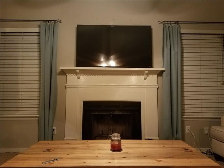 TV with Cable, Apple TV and Sound Bar, Charleston